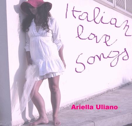 cd cover italian love songs for printing