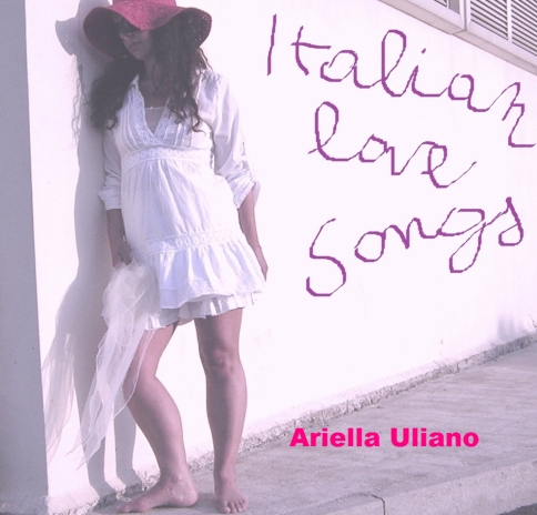 cd cover italian love songs for printing